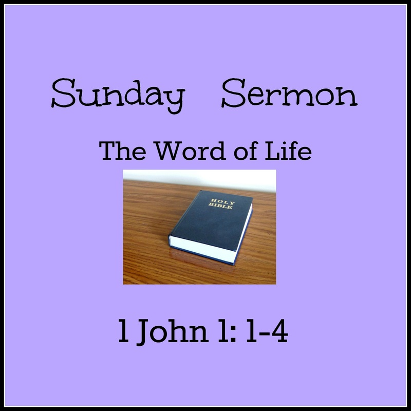 The Word of Life - Sunday Sermon - Fish and Cans